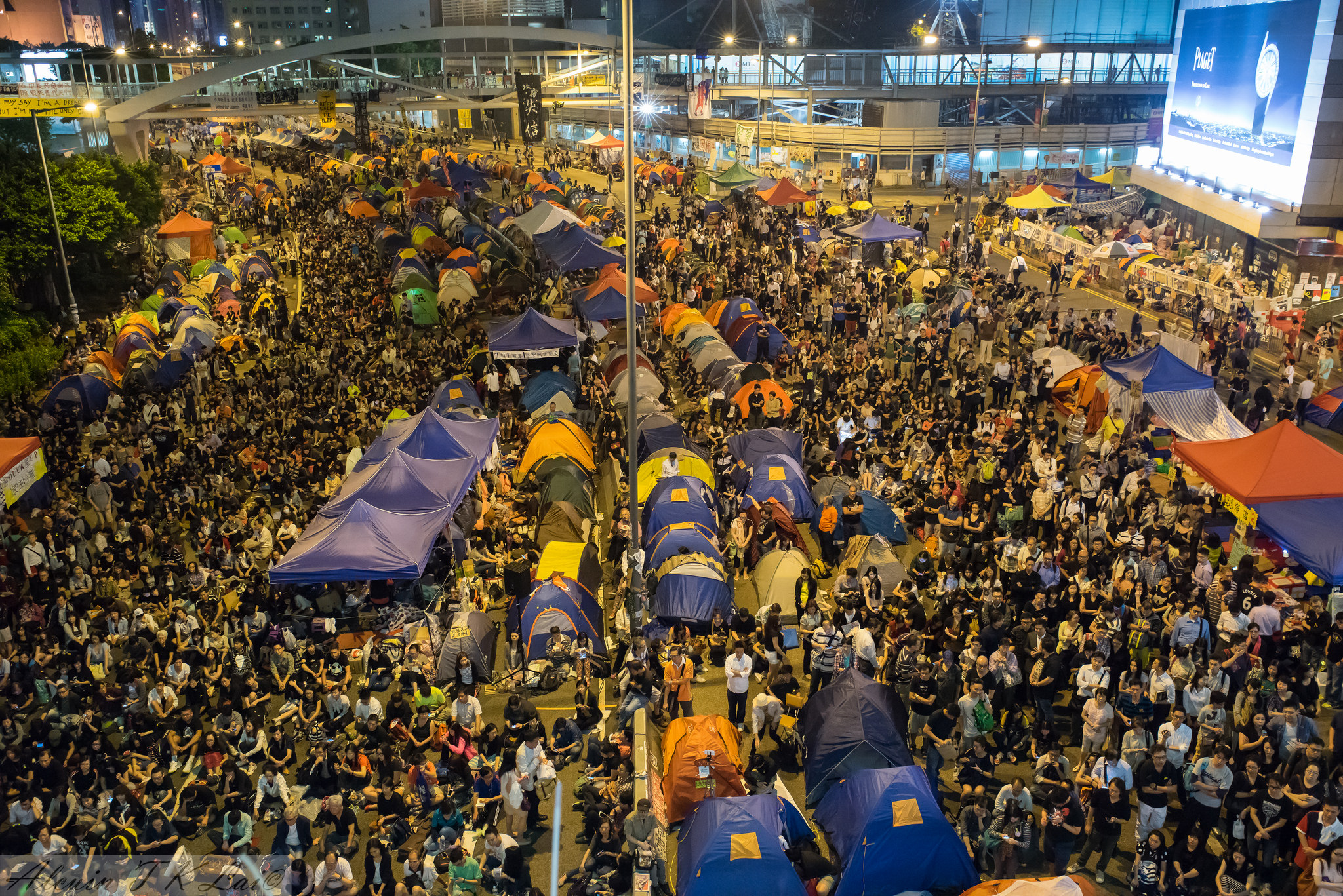 Hong Kong, Umbrella revolution