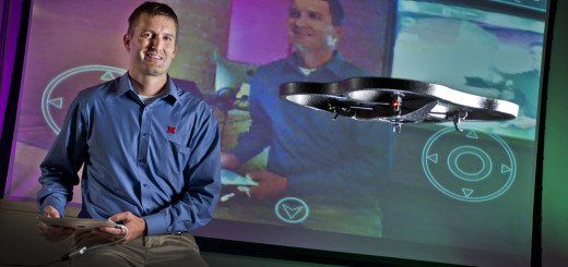 Drone professor Matt Waite